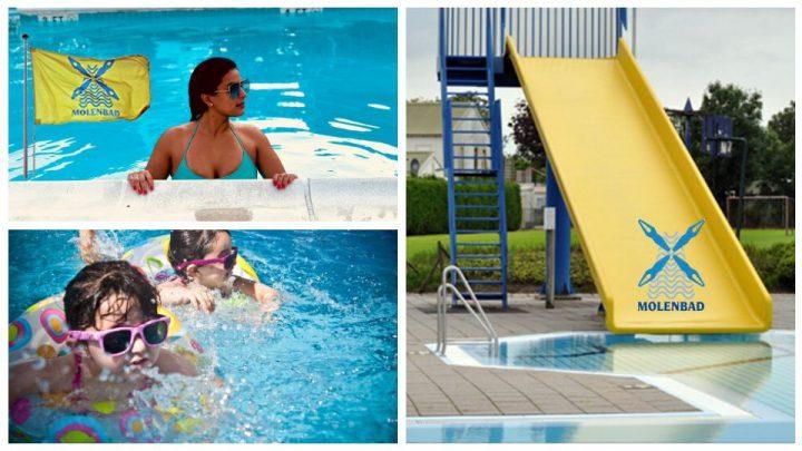 Recreatief zwemmen 13-20. Gesloten 17:00-19:00 uur