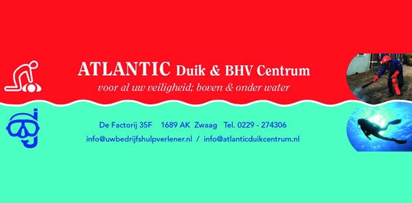 Atlantic Duikcentrum duikopleidingen